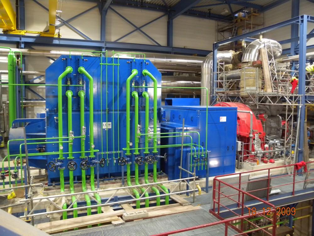 Energie und Umwelt / Dampfturbine